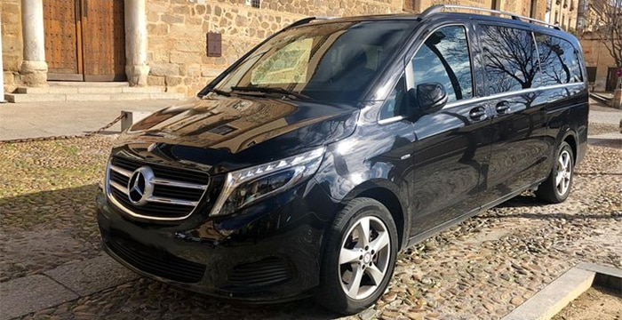 Madrid to Toledo by taxi