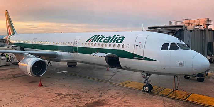 Из Милана в Рим на самолете
