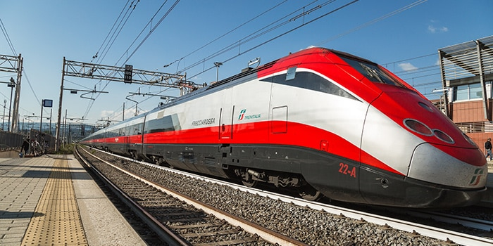 Paris to Rome by high-speed train