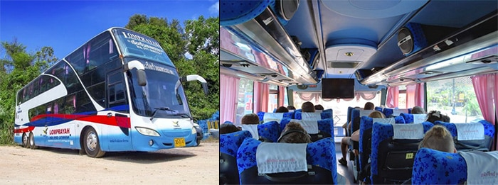 Phuket to Koh Phangan by bus and ferry