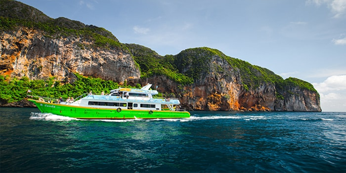 Phuket to Krabi by normal ferry