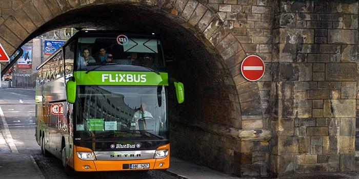 Prague ke Budapest menaiki bas