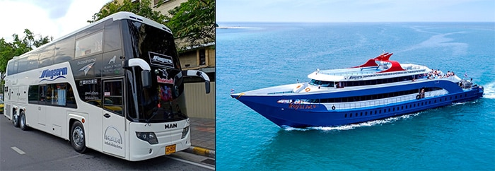 Surat Thani to Koh Tao by high-speed ferry