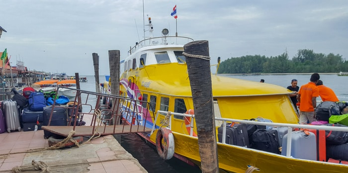 Tigerline Travel Ferry