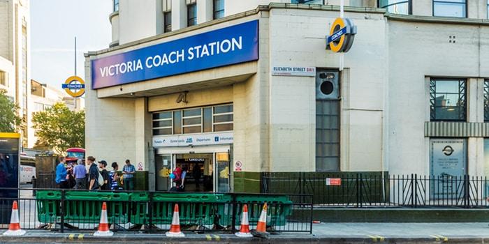 Лондонский автовокзал Виктория