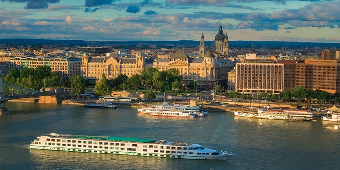 Vienna to Budapest by boat