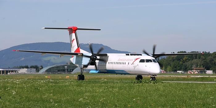 Vienna to Salzburg by plane
