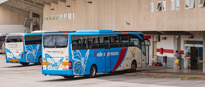 Faro to Lisbon by bus