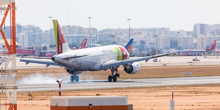 Faro to Lisbon by plane