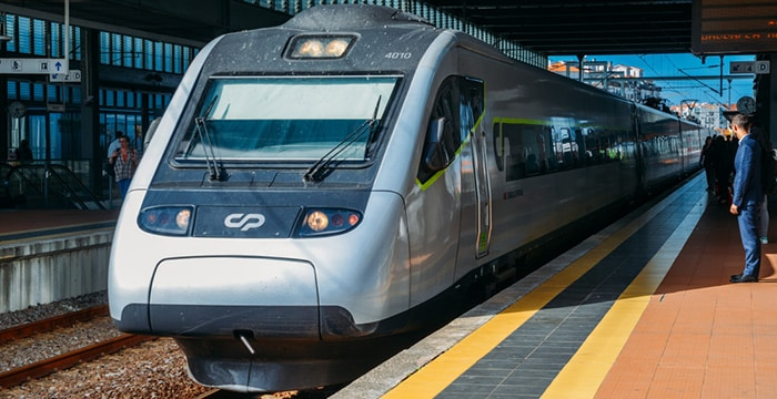 Da Faro a Lisbona in treno