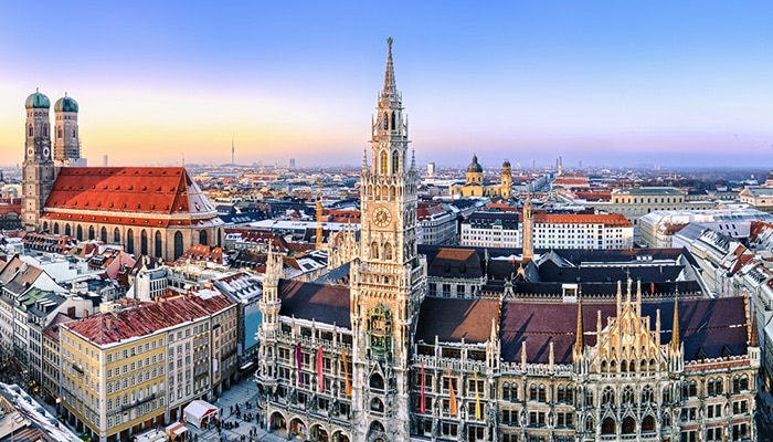 How to go from Frankfurt to Munich