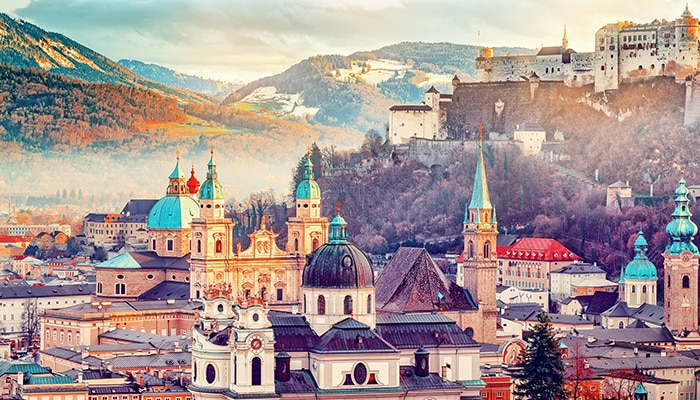 How to go from Munich to Salzburg