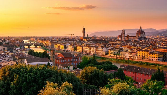 How to go from Venice to Florence
