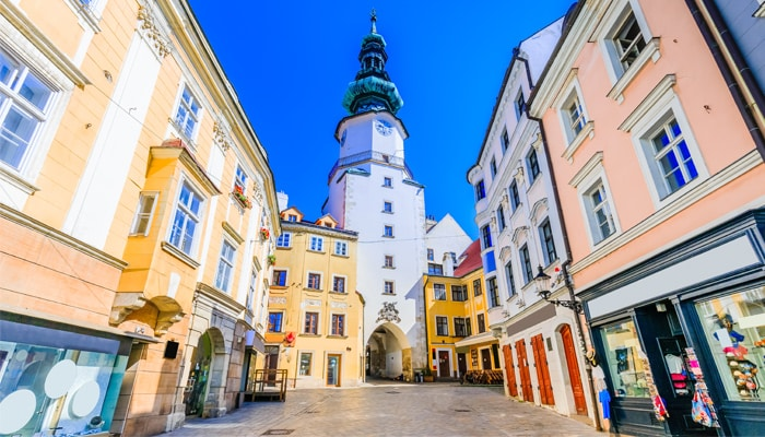 How to go from Vienna to Bratislava