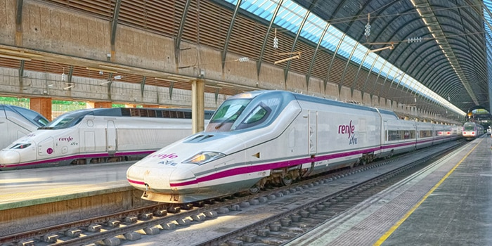 Madrid to Granada by high-speed train