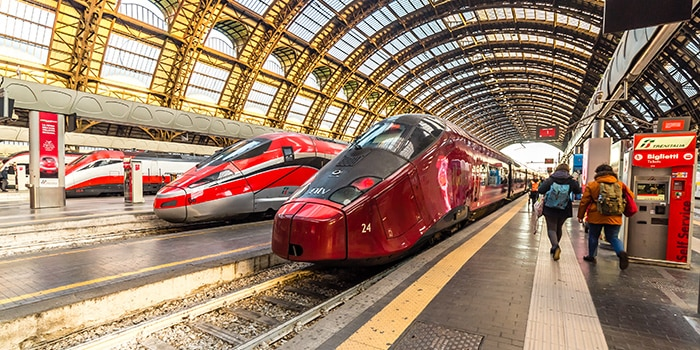 Milan to Venice by high-speed train