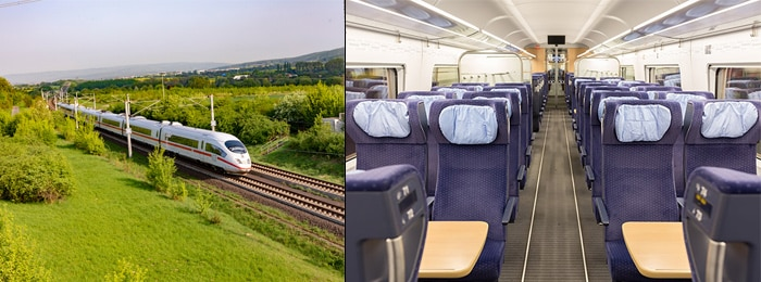 Paris to Berlin by high-speed train