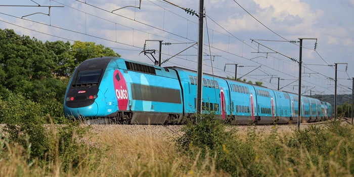 Paris to Lyon by high-speed train