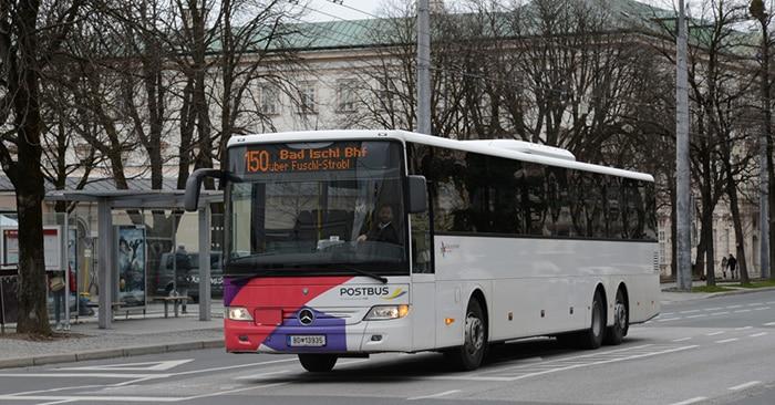 Из Зальцбурга в Гальштат на автобусе
