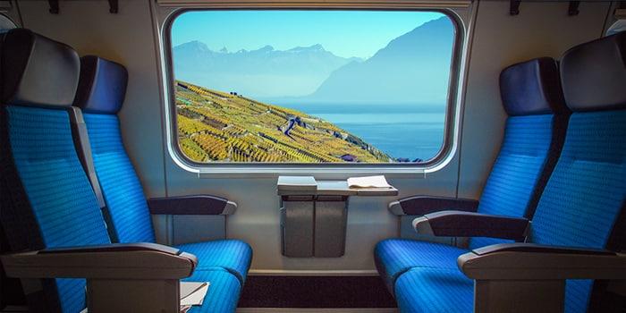 Seating Intercity Train