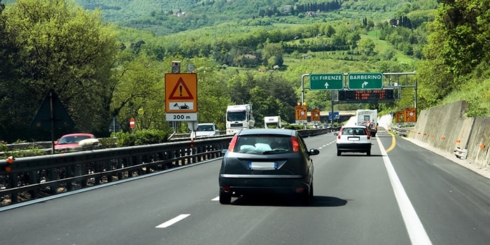 Venice to Florence by car