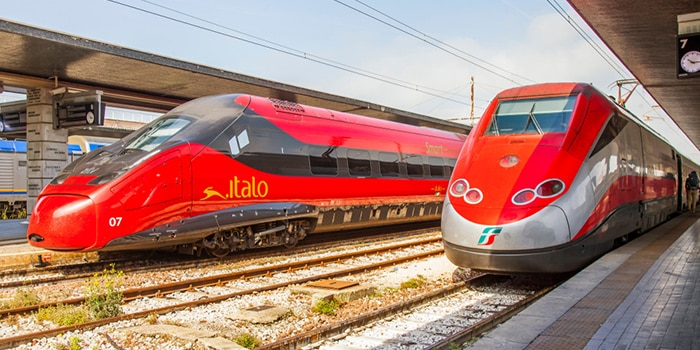 Venice to Florence by high-speed train