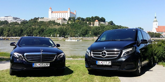 Vienna to Bratislava by taxi