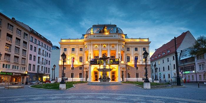 Vienna to Bratislava by tour