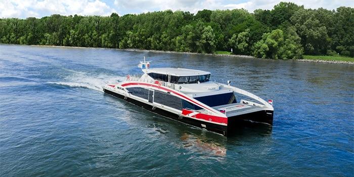 Vienna to Bratislava by boat