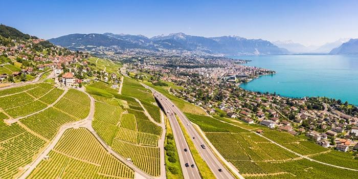 Zurich to Geneva by car