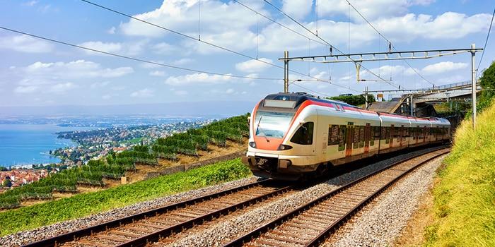 Zurich to Geneva by train