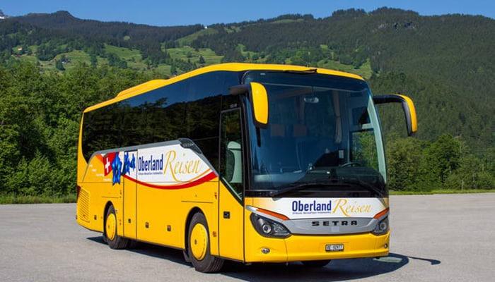Zurich to Interlaken by bus