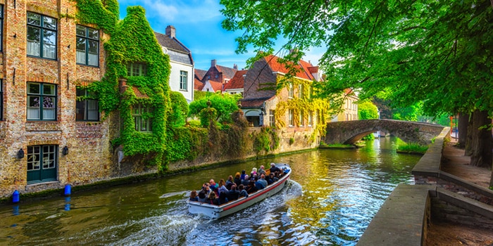 Amsterdam to Bruges by organised tour