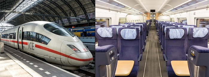 Amsterdam to Prague by train