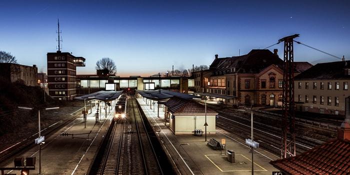 Copenhagen to Amsterdam by train