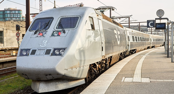 Copenhagen to Stockholm by high-speed train