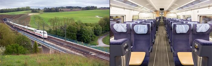 Frankfurt to Berlin by train