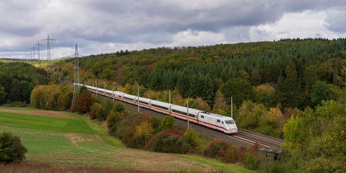 Hamburg to Berlin by high-speed train