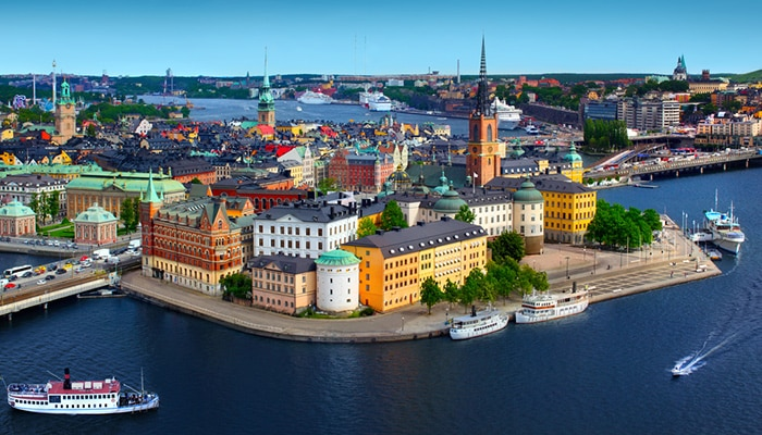 How to go from Oslo to Stockholm