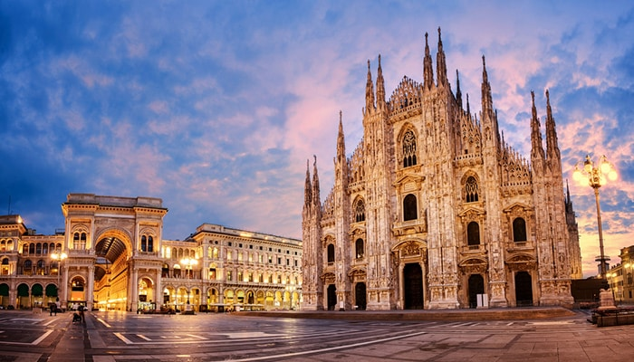 How to go from Paris to Milan