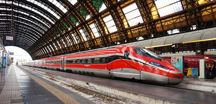 Milan to Florence by high-speed train