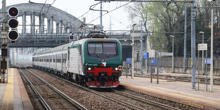 Da Milano a Firenze con il treno normale