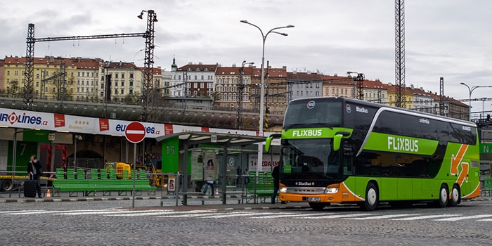 Munich to Prague by bus
