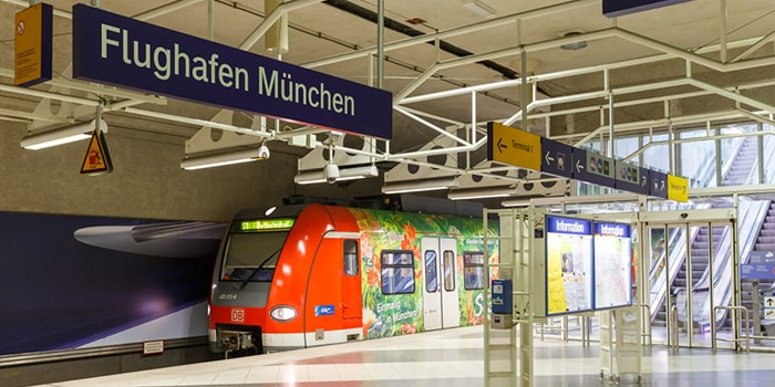 Munich to Prague airport train