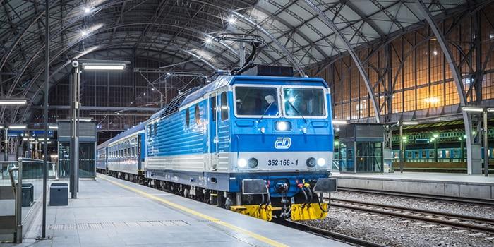 Munich to Prague by train