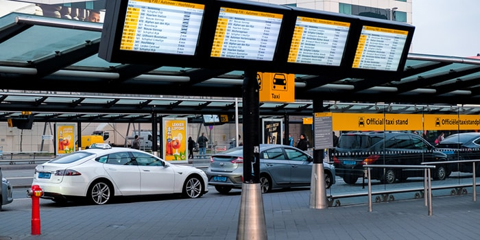 Rotterdam to Amsterdam by taxi