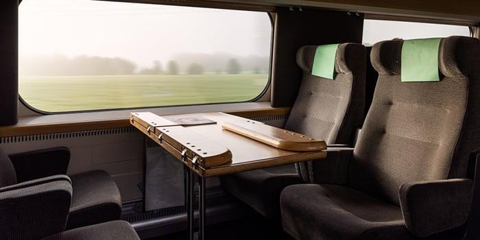 X2 train interior