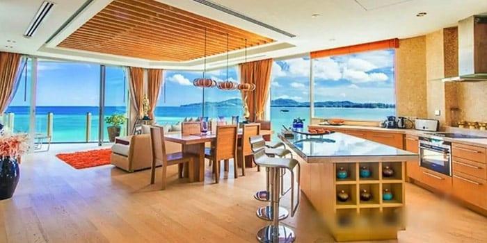 奢华双卧海滨顶层公寓