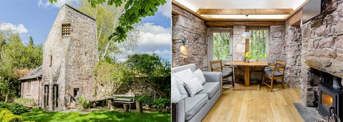 16th Century Dovecot Cottage in Private Garden