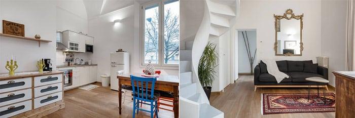Grande, Moderno Appartamento in Edificio Storico